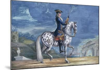 No. 11 an Appaloosa Horse of the Spanish Riding School, from the Imperial Stud in Bohemia-Baron Reis d' Eisenberg-Mounted Giclee Print