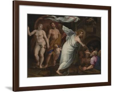 Christ's Descent into Limbo-Pablo de Cespedes-Framed Giclee Print