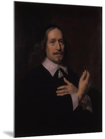 Portrait of a Man-Bartolomeus Van Der Helst-Mounted Giclee Print