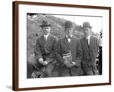 James R. Murphy Portrait Group, C.1910-20-William Davis Hassler-Framed Photographic Print