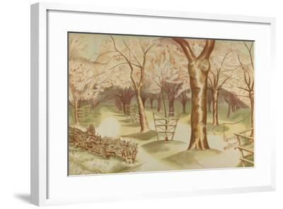 Untitled, from the Series 'Home Gardens for Home Markets', 1930-John Northcote Nash-Framed Giclee Print