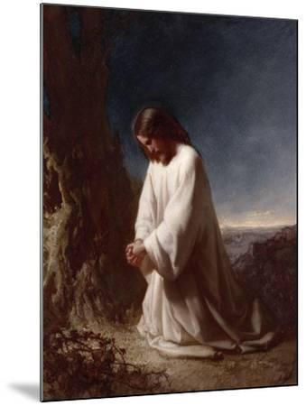 Thy Will Be Done-Henry Lejeune-Mounted Giclee Print