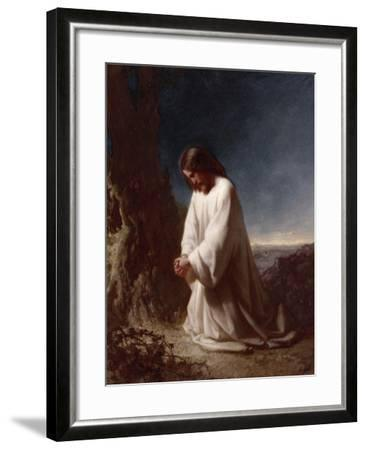 Thy Will Be Done-Henry Lejeune-Framed Giclee Print