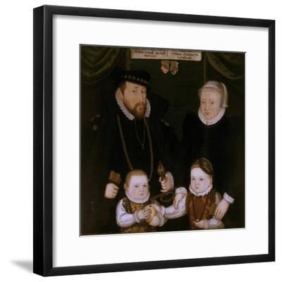 Triptych of Johann Wilhelm Von Sachsen, 1587-Christoph Leutolph-Framed Giclee Print