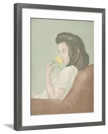 The Tea Rose, C.1900-Antoine Maurin-Framed Giclee Print