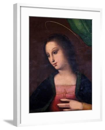 Portrait of Mary-A. Piccinelli-Framed Giclee Print