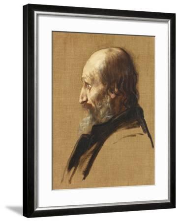 Portrait of Thomas Dixon, 1879-Alphonse Legros-Framed Giclee Print