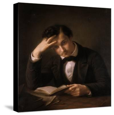 Young Student, 1858-Emil Jacobs-Stretched Canvas Print
