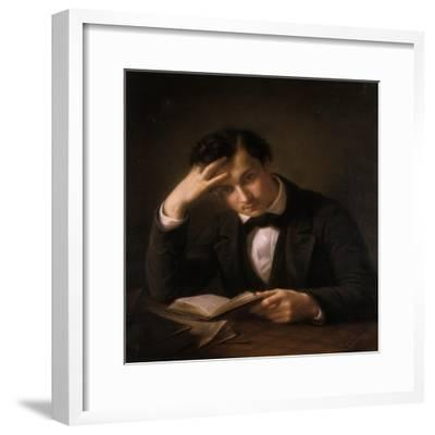 Young Student, 1858-Emil Jacobs-Framed Giclee Print