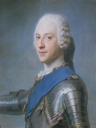Prince Charles Edward Stewart, 1720-88-Maurice Quentin de La Tour-Framed Giclee Print