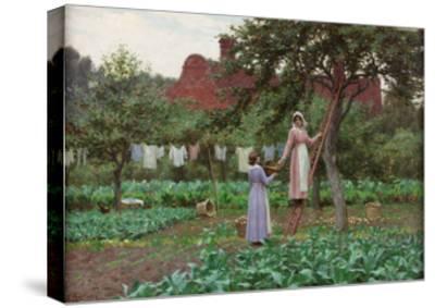 September, 1915-Edmund Blair Leighton-Stretched Canvas Print