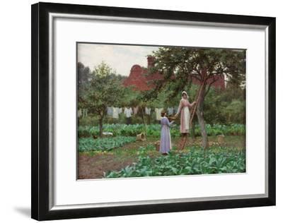 September, 1915-Edmund Blair Leighton-Framed Giclee Print