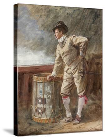 The Drum Watch, 1916-John Seymour Lucas-Stretched Canvas Print