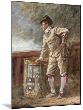The Drum Watch, 1916-John Seymour Lucas-Mounted Giclee Print