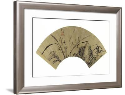 Orchids, Fungus and Rock-Dong Qichang-Framed Giclee Print