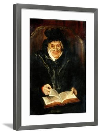 Portrait of an Old Lady, 1823-Andrew Morton-Framed Giclee Print