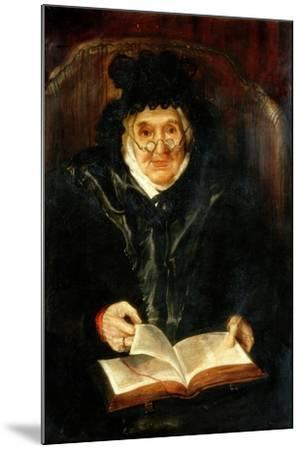 Portrait of an Old Lady, 1823-Andrew Morton-Mounted Giclee Print