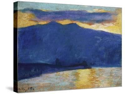 Sunrise, 1896-Lesser Ury-Stretched Canvas Print