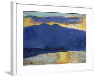Sunrise, 1896-Lesser Ury-Framed Giclee Print