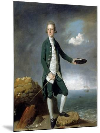 Sir Francis Holvering-Johann Zoffany-Mounted Giclee Print