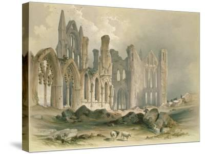 Whitby Abbey from the North-East-William Richardson-Stretched Canvas Print