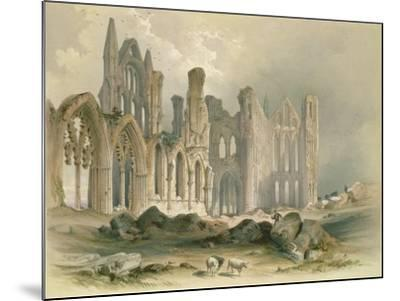 Whitby Abbey from the North-East-William Richardson-Mounted Giclee Print