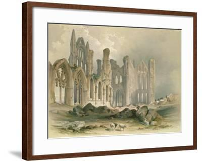 Whitby Abbey from the North-East-William Richardson-Framed Giclee Print