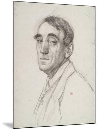 Self Portrait, 1916-Theo van Rysselberghe-Mounted Giclee Print