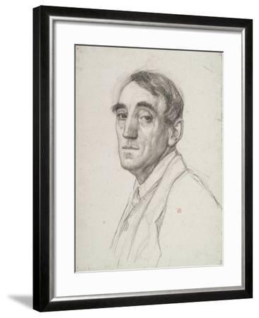 Self Portrait, 1916-Theo van Rysselberghe-Framed Giclee Print