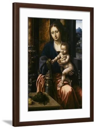 Madonna and Child, C.1520-30--Framed Giclee Print