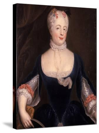Countess Doenhoff--Stretched Canvas Print