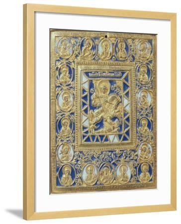 St. George and the Dragon--Framed Giclee Print