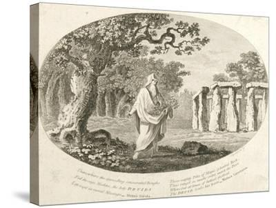 Druid, from 'Antiquities of England and Wales' by Frances Grose--Stretched Canvas Print