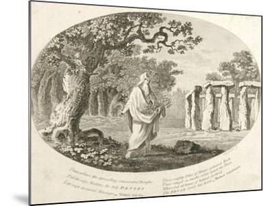 Druid, from 'Antiquities of England and Wales' by Frances Grose--Mounted Giclee Print