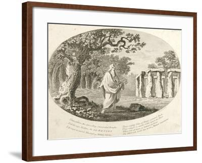 Druid, from 'Antiquities of England and Wales' by Frances Grose--Framed Giclee Print