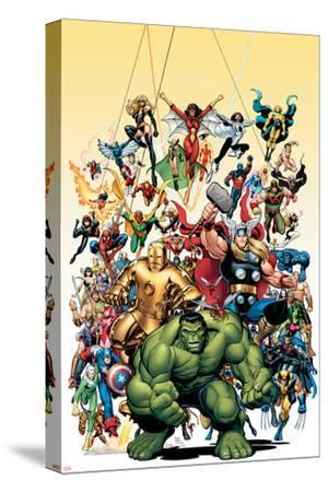 Avengers Classics No.1 Cover: Hulk-Arthur Adams-Stretched Canvas Print