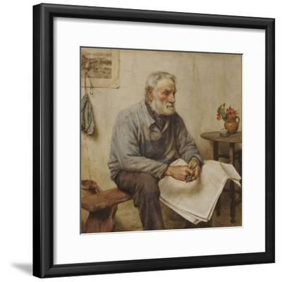 A Moment's Rest-Walter Langley-Framed Giclee Print