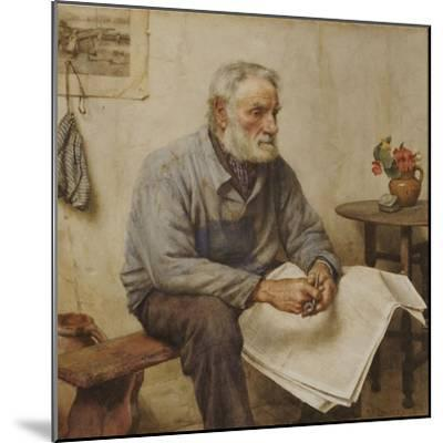 A Moment's Rest-Walter Langley-Mounted Giclee Print