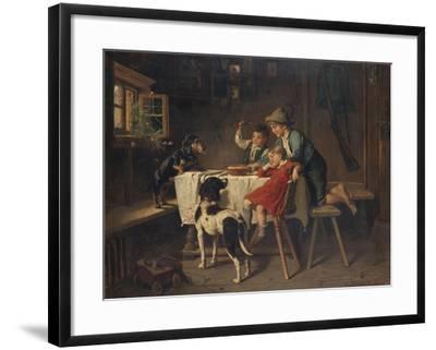 Breakfast Time-Adolf Eberle-Framed Giclee Print