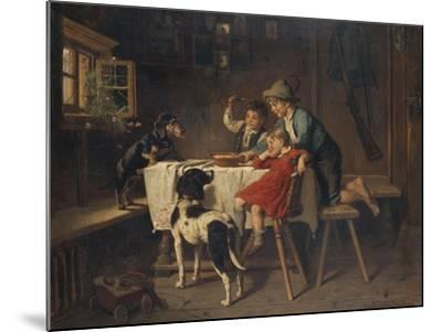 Breakfast Time-Adolf Eberle-Mounted Giclee Print