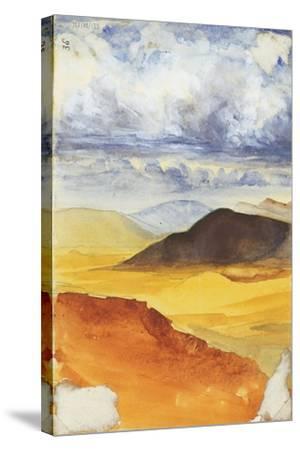 Desert Landscape-Claude Conder-Stretched Canvas Print