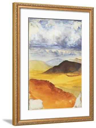 Desert Landscape-Claude Conder-Framed Giclee Print