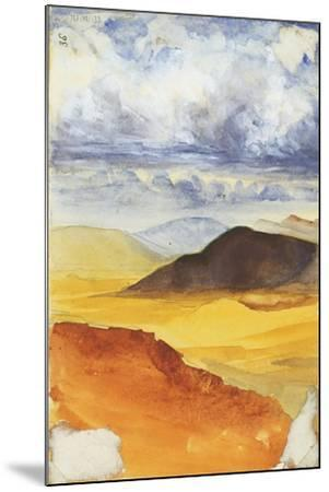 Desert Landscape-Claude Conder-Mounted Giclee Print