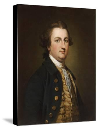 Portrait of a Gentleman-Francis Cotes-Stretched Canvas Print