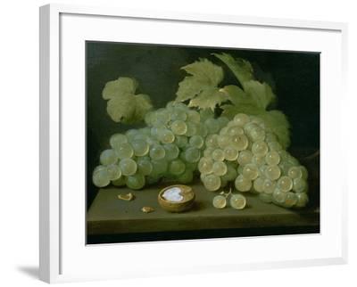 Grapes with Half a Walnut-Jacob Foppens Van Es-Framed Giclee Print