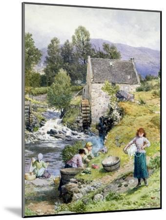 A Mill Pool-Myles Birket Foster-Mounted Giclee Print