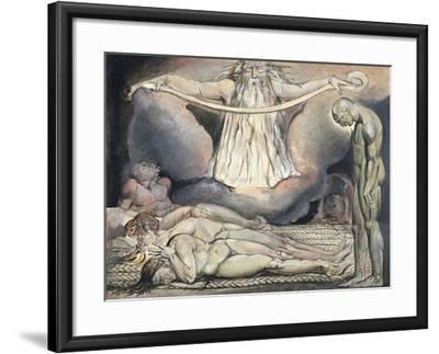 The Lazar House, 1795-William Blake-Framed Giclee Print