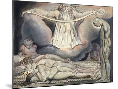The Lazar House, 1795-William Blake-Mounted Giclee Print
