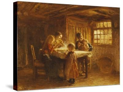 The Family Meal-Bernardus Bloomers-Stretched Canvas Print