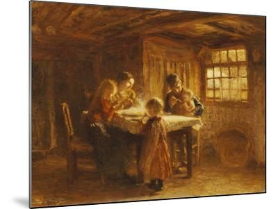 The Family Meal-Bernardus Bloomers-Mounted Giclee Print